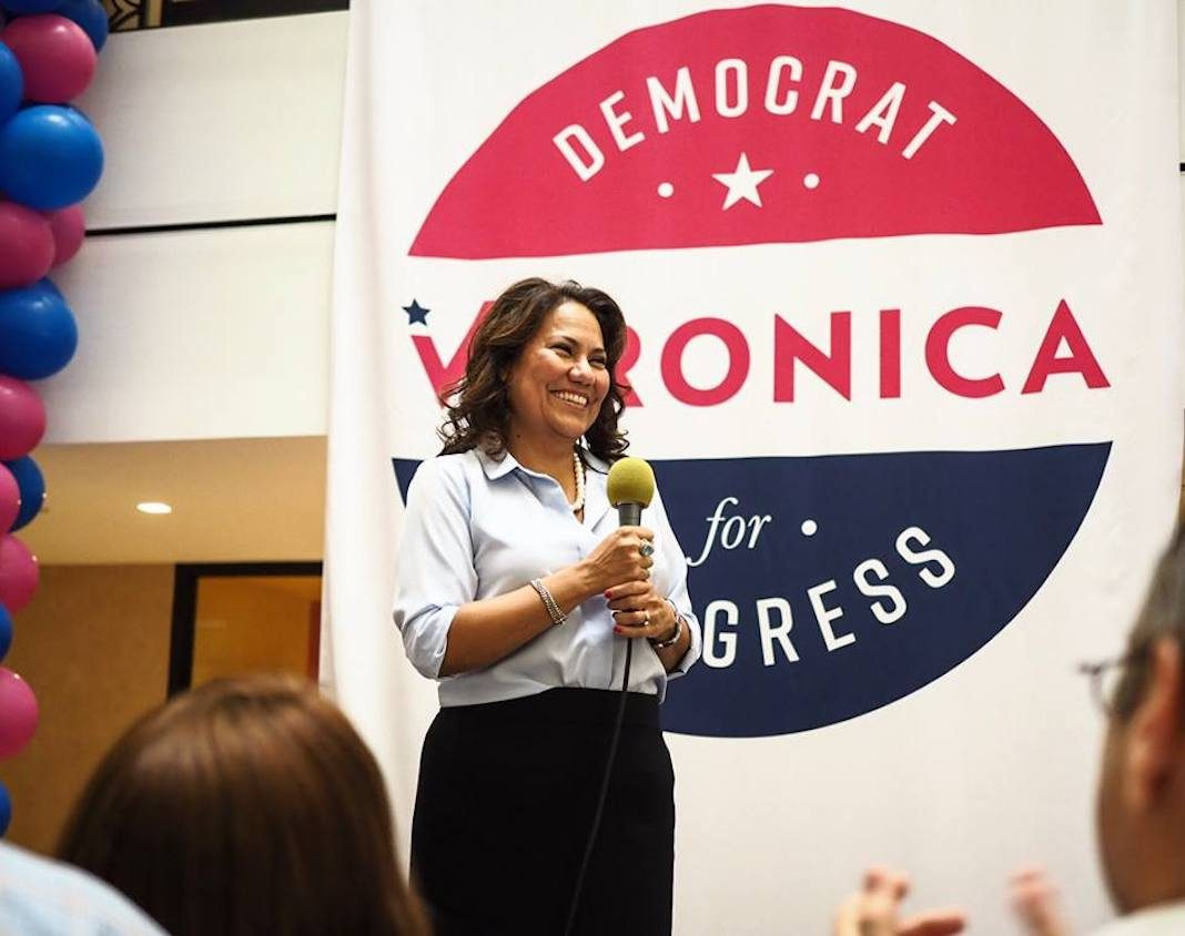 Veronica Escobar, Democratic congressional candidate in Texas