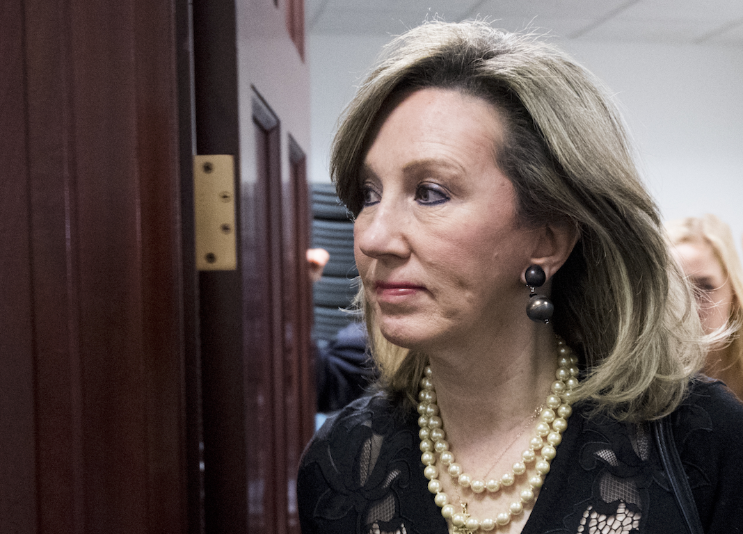 Virginia Republican Rep. Barbara Comstock