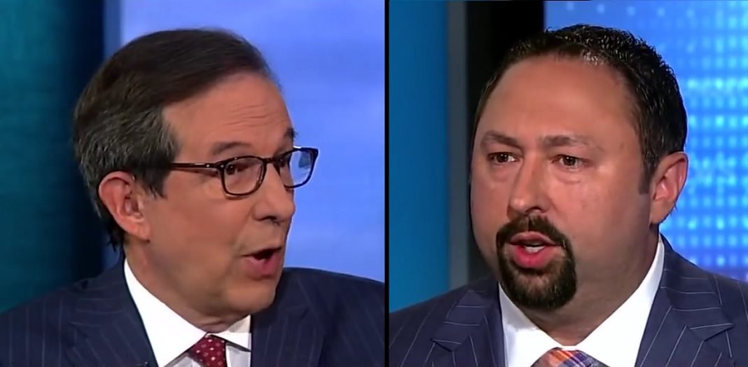 Fox News host Chris Wallace and former Trump communications director Jason Miller