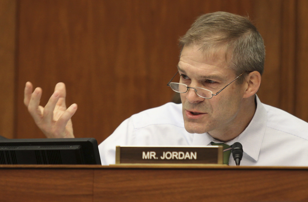 Ohio Republican Rep. Jim Jordan