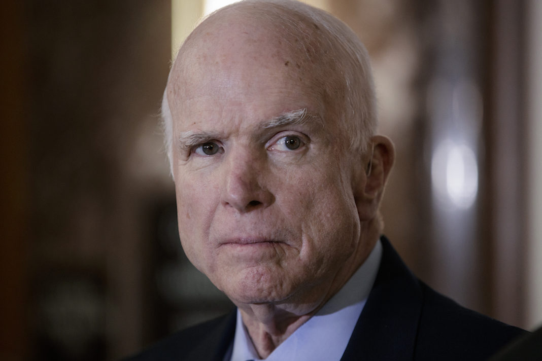 Arizona Republican Sen. John McCain