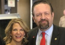 Arizona Republican Senate candidate Kelli Ward with Nazi sympathizer Sebastian Gorka