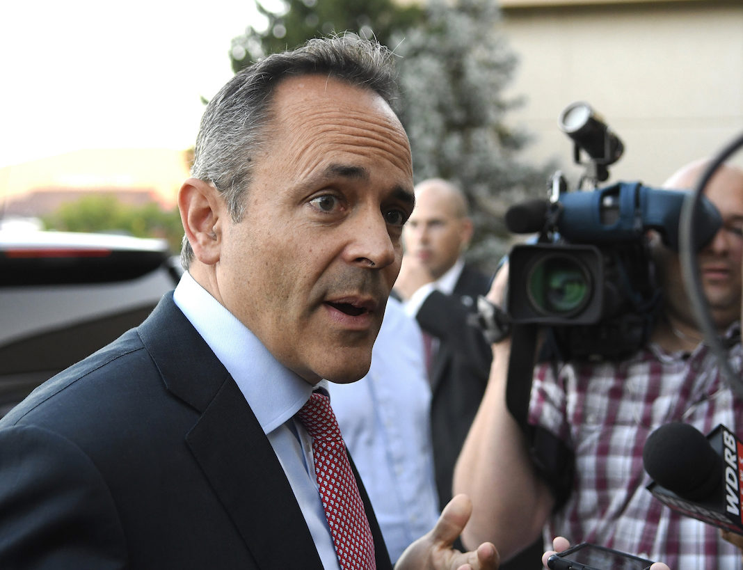 Kentucky Republican Gov. Matt Bevin