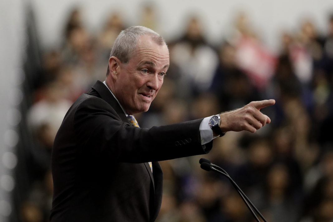 New Jersey Democratic Gov. Phil Murphy