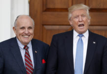 Donald Trump and Rudy Giuliani