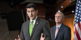 House GOP Paul Ryan and Kevin McCarthy