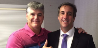 Sean Hannity and the lawyer he shares with Trump, Michael Cohen