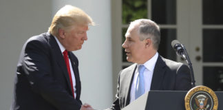 Donald Trump and Scott Pruitt