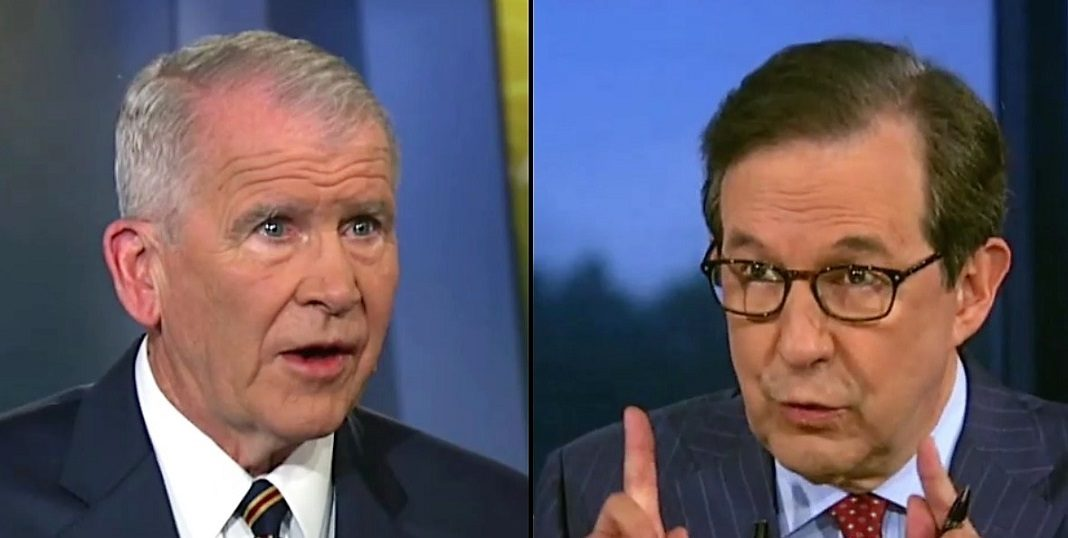 Chris Wallace Oliver North 05-20-2018