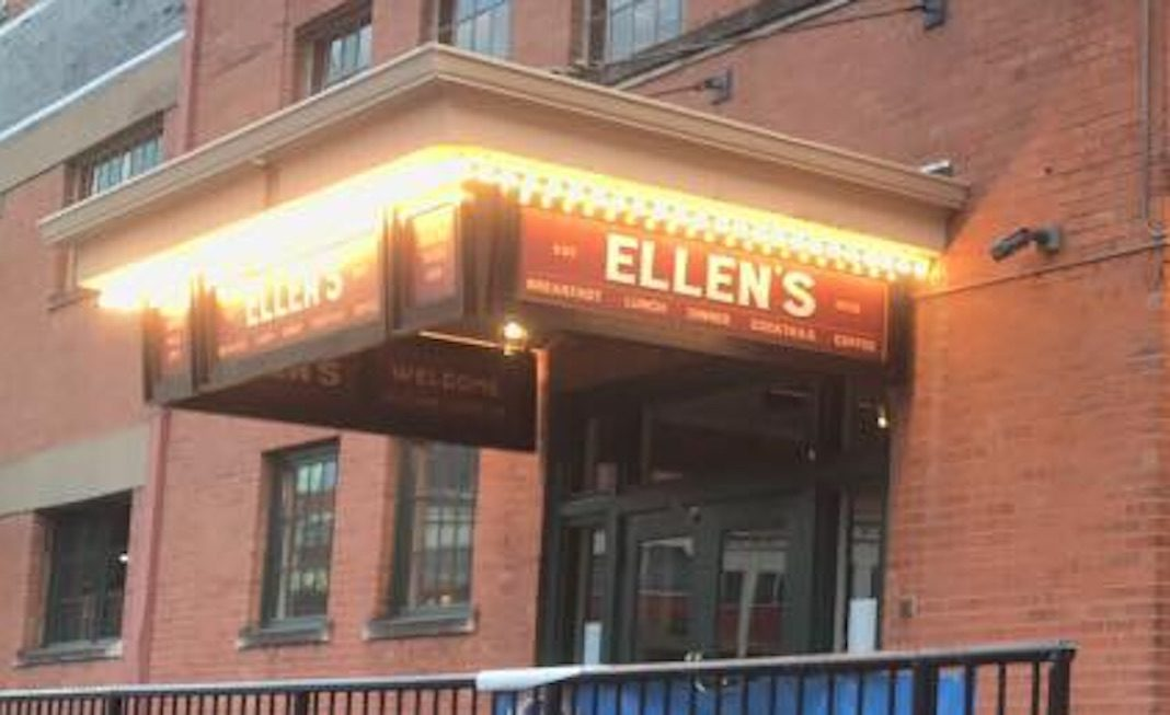 Ellen's restaurant in Dallas, Texas