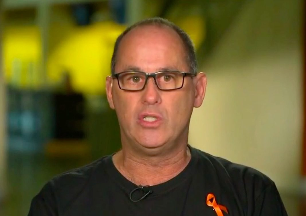 Fred Guttenberg, whose daughter Jaime was killed in the Parkland school shooting
