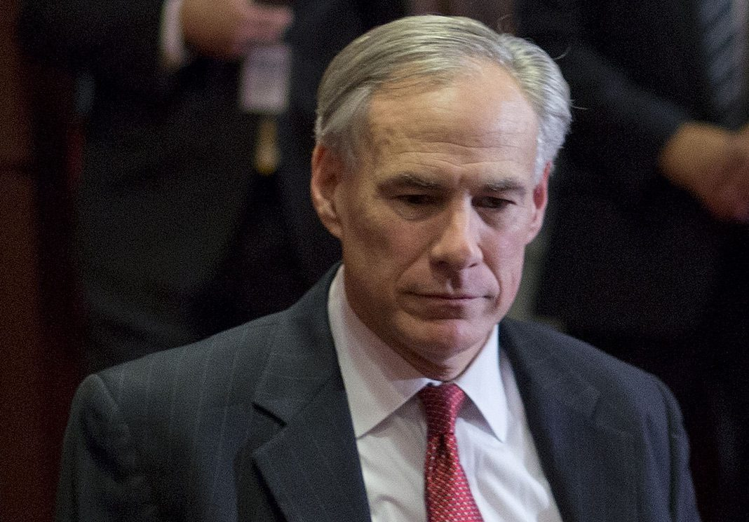 Texas Republican Gov. Greg Abbott
