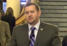 Iowa Republican state Sen. Jake Chapman