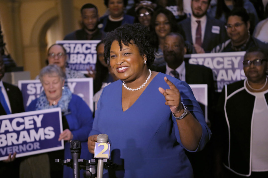 Georgia Democratic gubernatorial nominee Stacey Abrams would be the first black woman governor in the country if elected