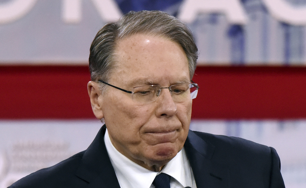 GOP Senate nominee may have blurted out evidence of collusion with NRA