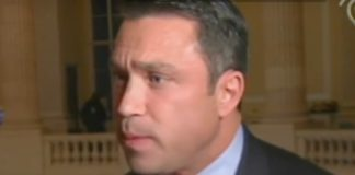 Former New York Republican Michael Grimm, who was convicted of tax fraud and who threatened a reporter on camera with physical harm