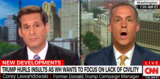 Corey Lewandowski and John Berman