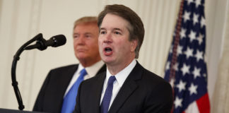 Donald Trump, Brett Kavanaugh