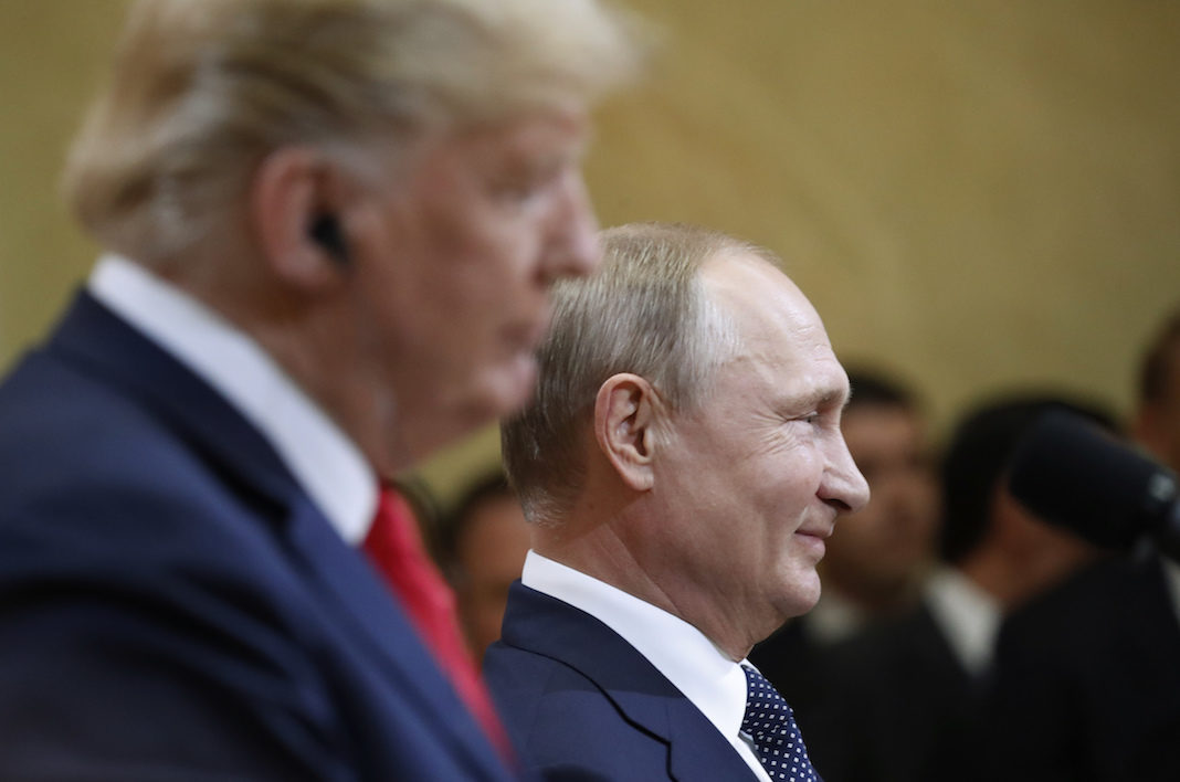 Trump and Putin in Helsinki