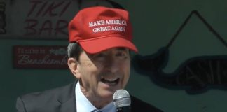 GOP candidate Seth Grossman in MAGA hat