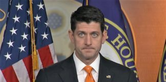 Speaker of the House Paul Ryan