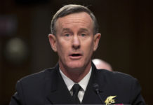 Navy Adm. William McRaven