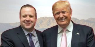 Corey Stewart and Trump
