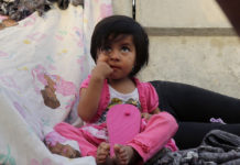 2-year-old Jennifer, seeking asylum from Guatemala