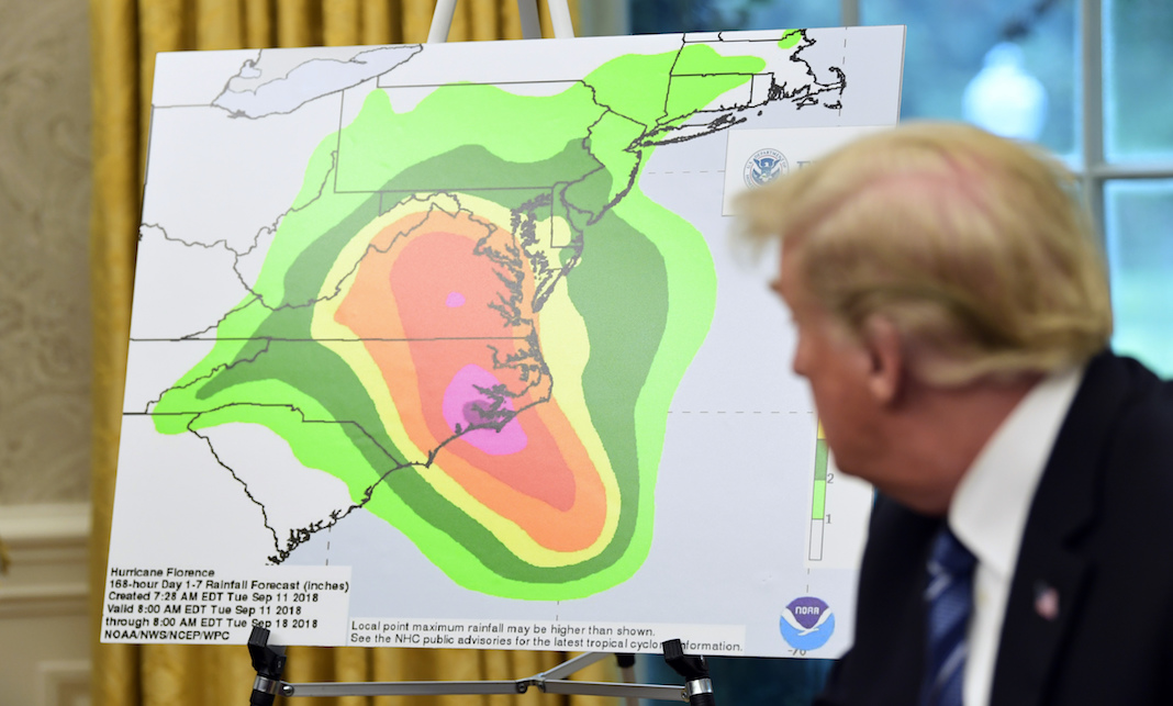 Trump team struggles to teach him what a hurricane is — with pictures