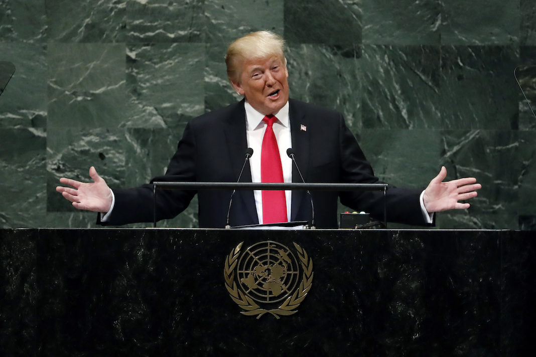 Trump at United Nations