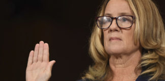Christine Blasey Ford testifies