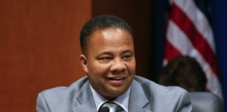 Democratic New York state Sen. Jesse Hamilton