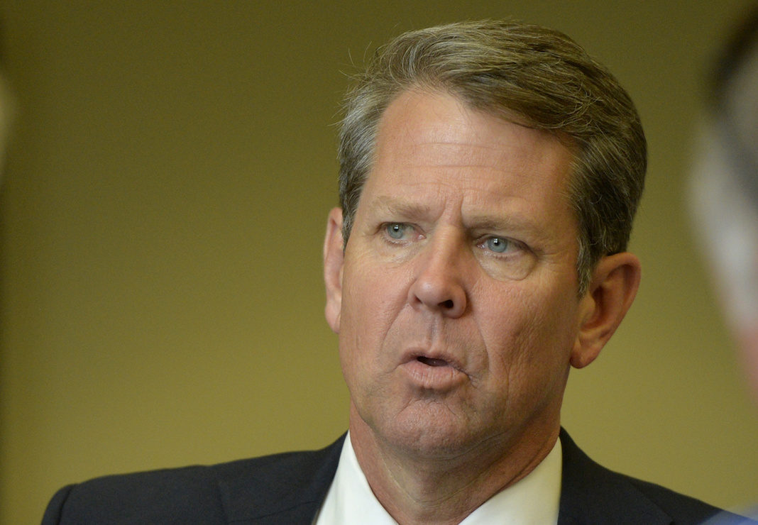 Republican nominee Brian Kemp
