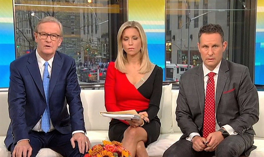 Steve Doocy, Ainsley Earhardt, and Brian Kilmeade of