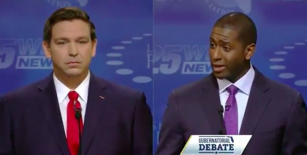 Ron DeSantis and Andrew Gillum