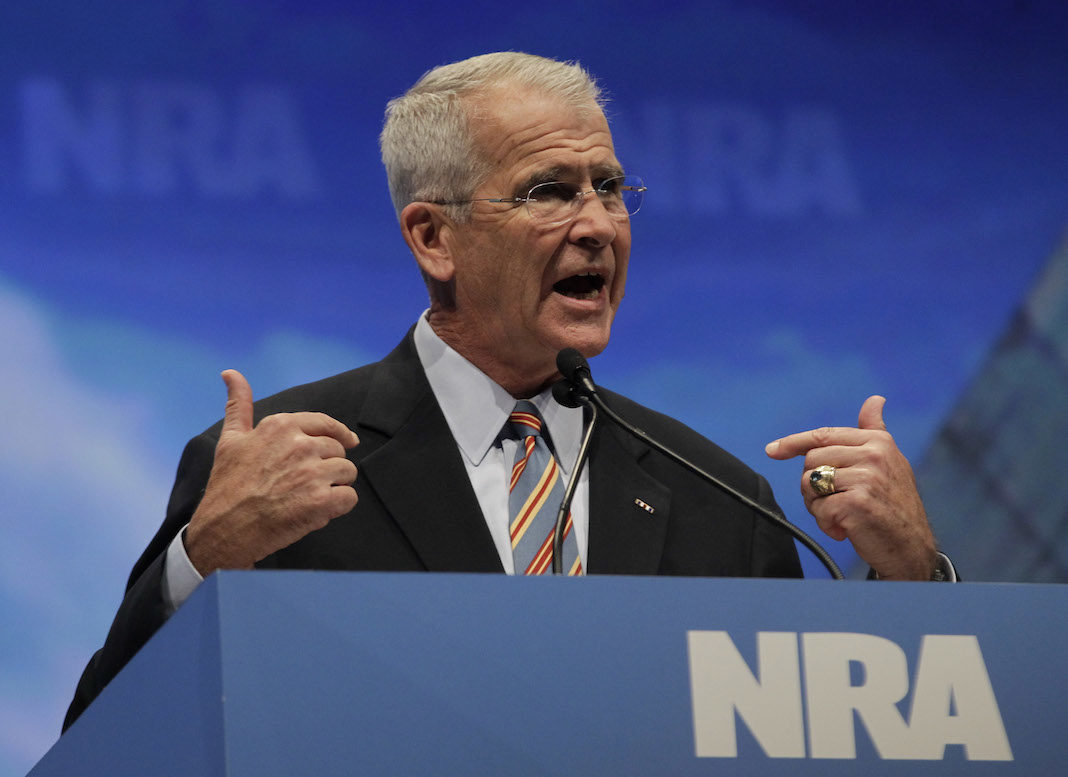 NRA President Oliver North