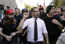 Proud Boys and founder Gavin McInnes