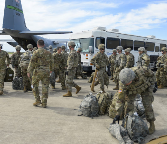 Troops at the U.S.-Mexico border