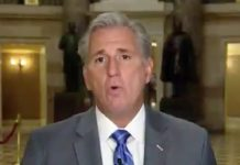 GOP House leader Kevin McCarthy