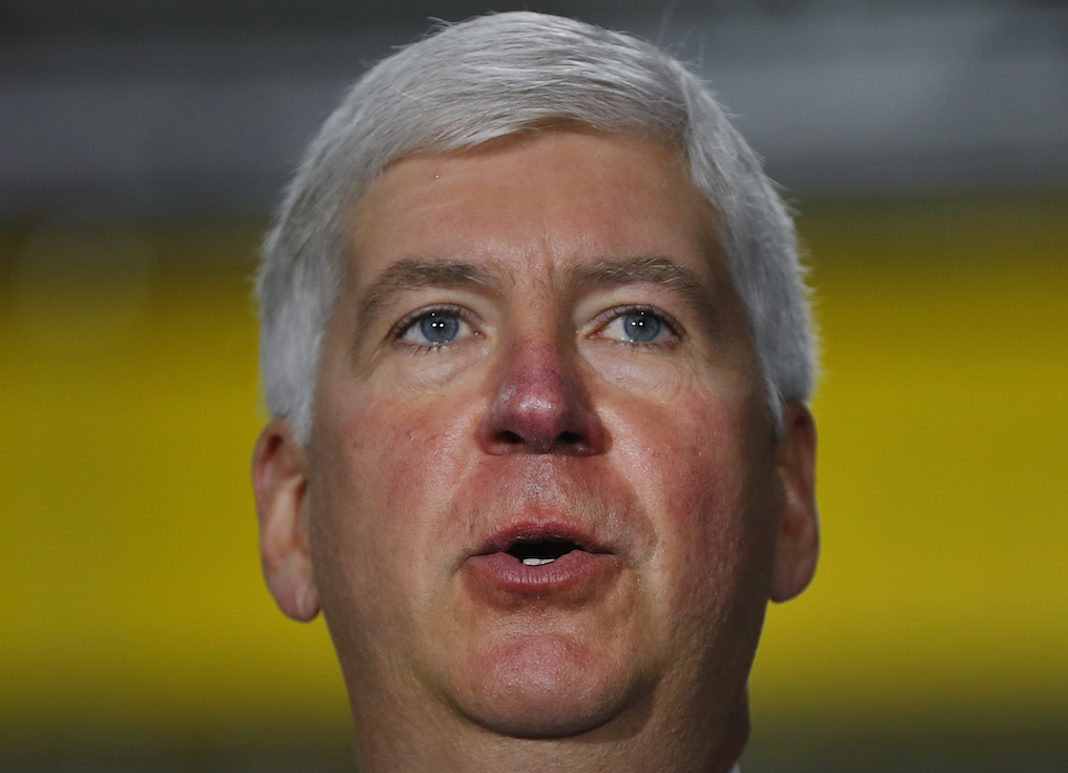 Michigan Republican Gov. Rick Snyder