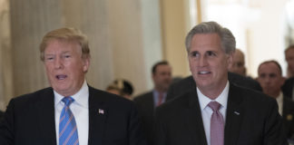 Donald Trump and Kevin McCarthy