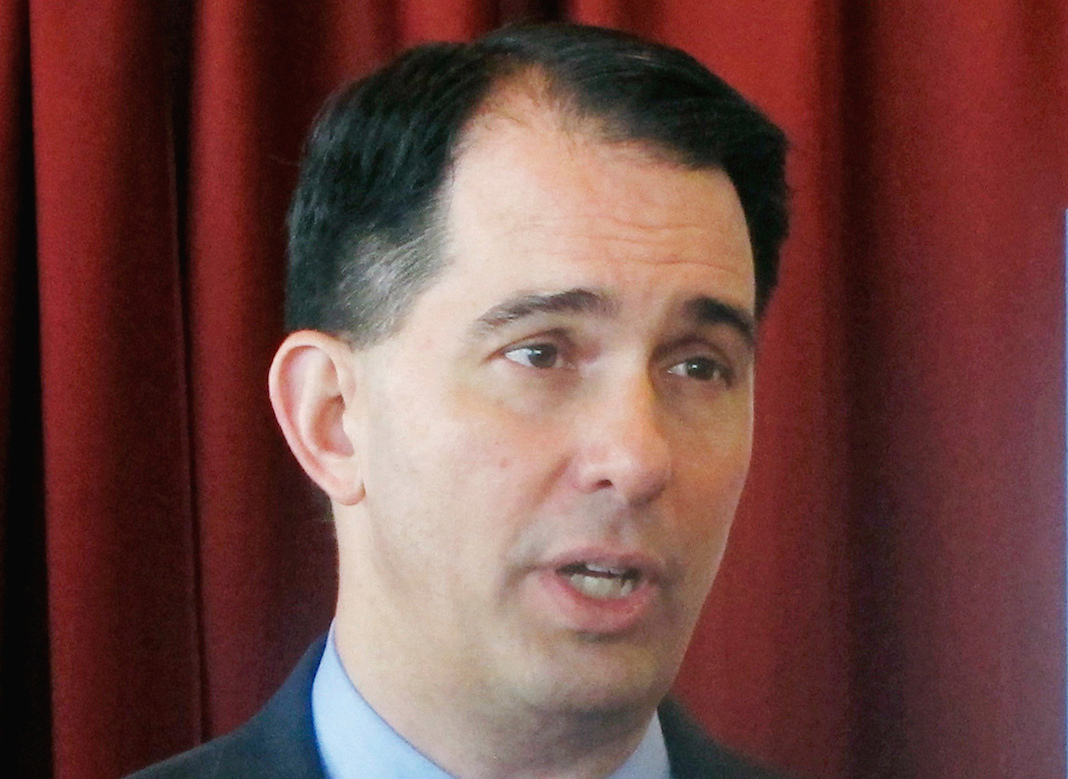 Scott Walker: I'm not taking ALL the power from the guy who beat me for governor