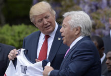 Donald Trump, Robert Kraft