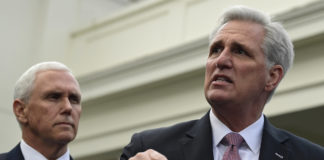 Kevin McCarthy, Mike Pence
