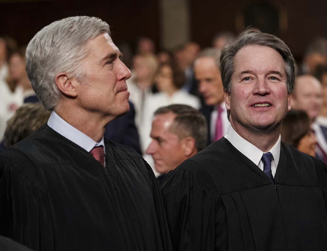 Supreme Court Justices Neil Gorsuch and Brett Kavanaugh