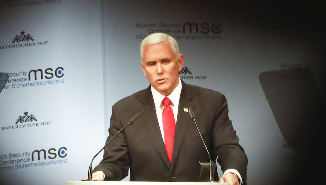 Mike Pence in Munich
