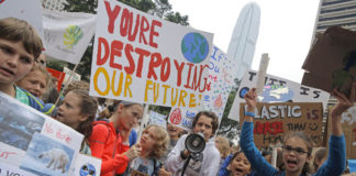Climate Strike youth protesters