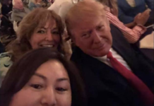 Trump with Li Yang