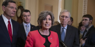 Joni Ernst, John Barrasso, Todd Young, Mitch McConnell