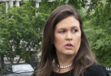 White House spokesperson Sarah Sanders